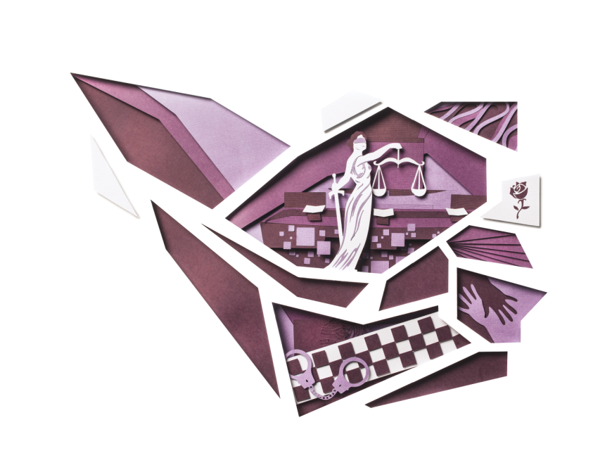 Paper Cutting, Law Prospectus Cover