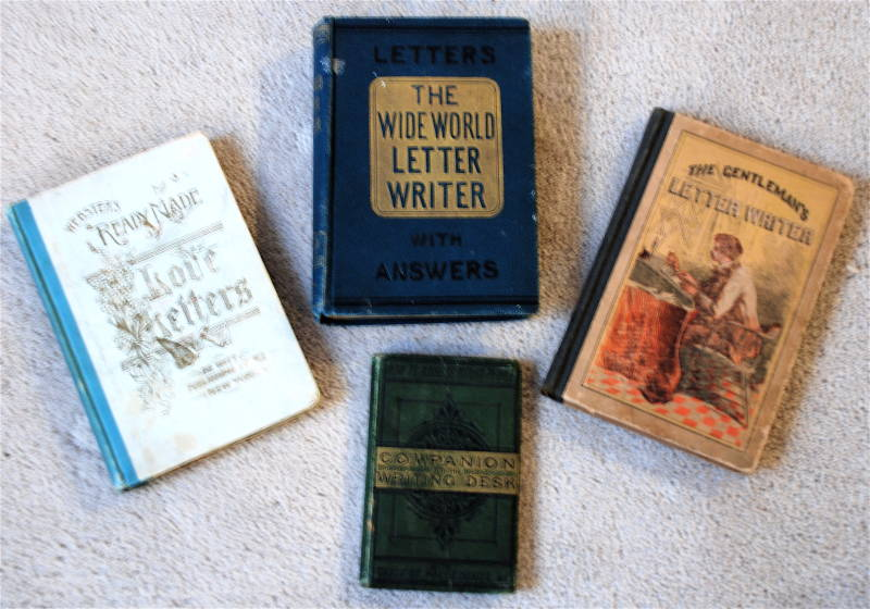 Various Victorian letter writing manuals